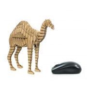 Camel 3d puzzle cardboard right side