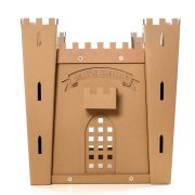 Fortress Cardboard Cat House back – medieval toy for your fluffy