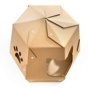 Mars One Cardboard Cat House top – let your kitty travel in space