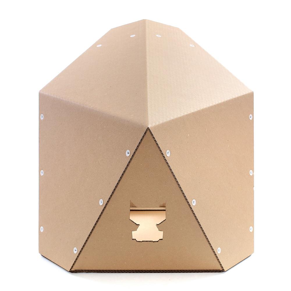 origami cardboard cat house � japanese decision of savoir