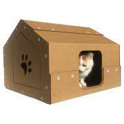 Studio Cardboard Cat House with cat2
