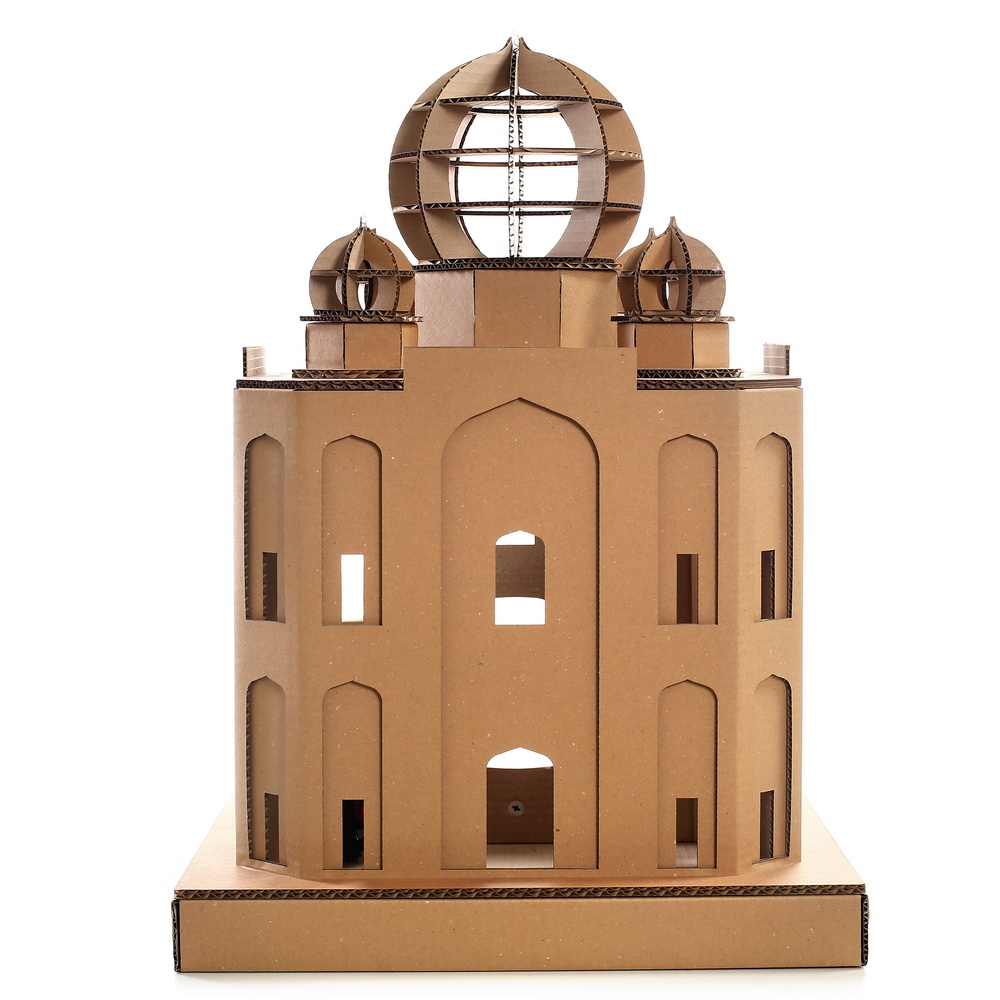 Cardboard House For Cats Taj Mahal Cardboard Cat House Masterpiece For Your Kitty Explorer