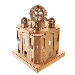 Taj Mahal Cardboard Cat House top back left – masterpiece for your kitty explorer