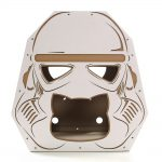 Trooper Cardboard Cat House entrance – force awakens