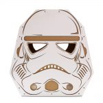 Trooper Cardboard Cat House front – force awakens