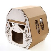 Trooper Cardboard Cat House top right – force awakens