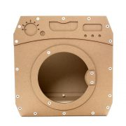 Wash Cardboard Cat House front – jump and enjoy the perfect wash