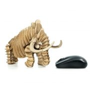 Wooly Mammoth 3D Cardboard Puzzle right