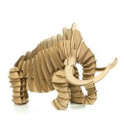 Wooly Mammoth 3D Cardboard Puzzle right side