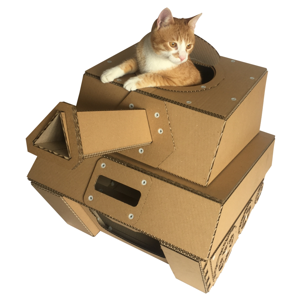 How To Make A Cat House Diy