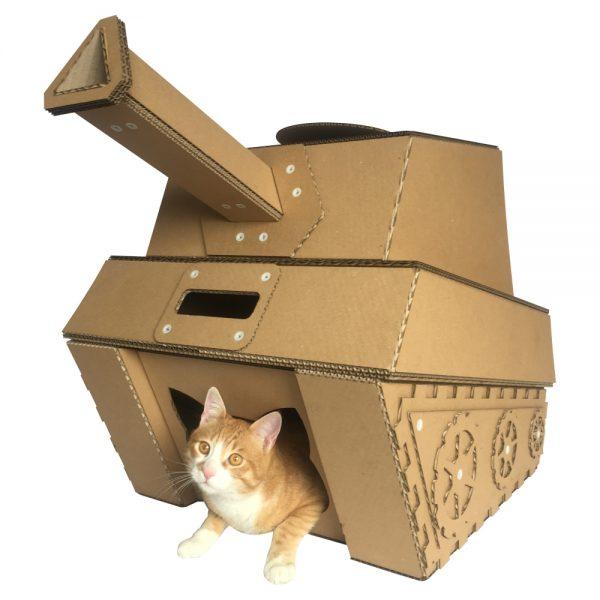 Cardboad Cat House
