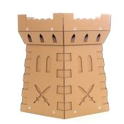 Cat Tower Cardboard Cat House back