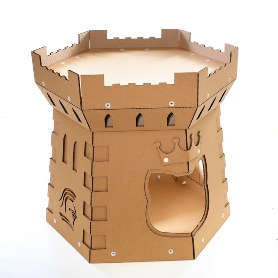Cat Tower Cardboard Cat House top right