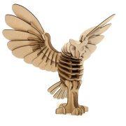 Owl Cardboard 3D Puzzle 1