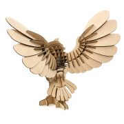 Owl Cardboard 3D Puzzle 3