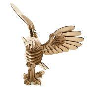 Owl Cardboard 3D Puzzle 5