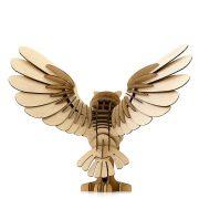 Owl Cardboard 3D Puzzle 7