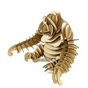 Gorrila 3D Cardboard Puzzle front right