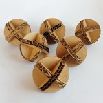 6 cardboard balls 1