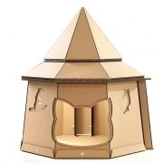 The The Good Giant Cardboard Cat House front