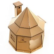 The The Good Giant Cardboard Cat House front left
