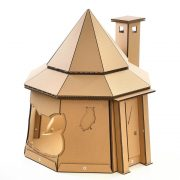 The The Good Giant Cardboard Cat House front right