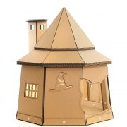 The The Good Giant Cardboard Cat House left