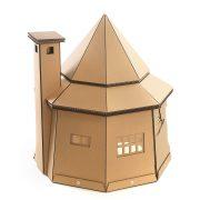 The The Good Giant Cardboard Cat House rear