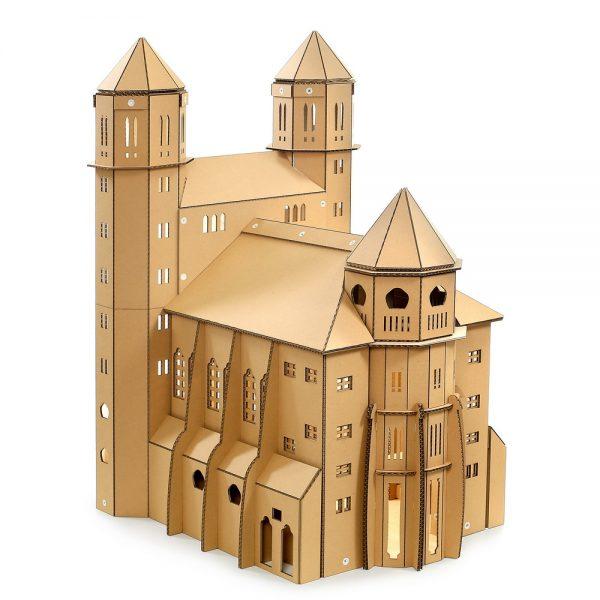 St. Paul's Church Cardboard Cat House top left