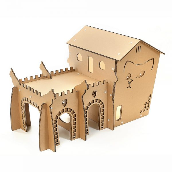 King's Palace Cardboard Cat House