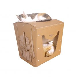 Transformers Cardboard Cat House