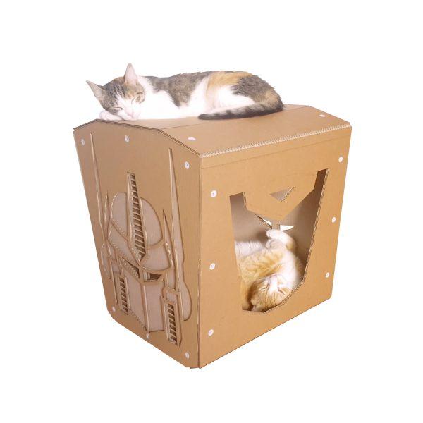 Transformers Cardboard Cat House
